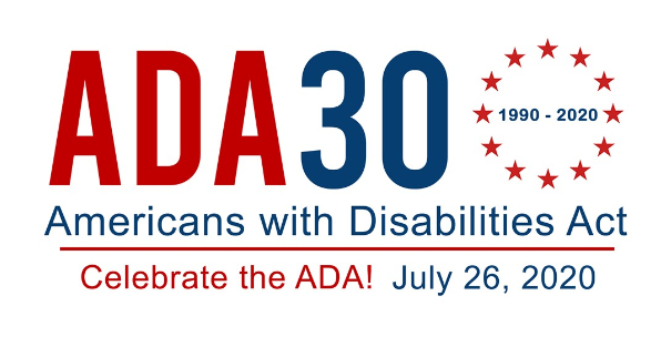 ADA 30th Logo July 26