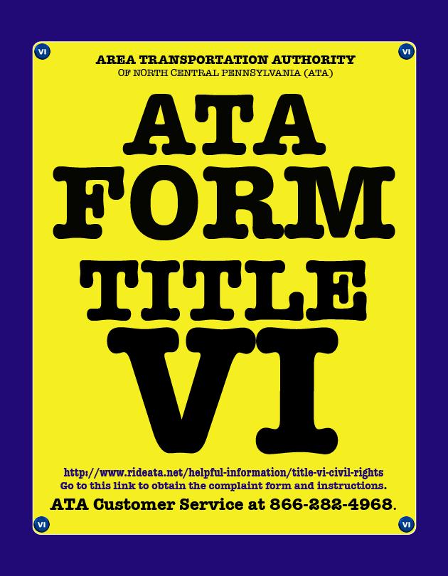 ATA VI Form ICON