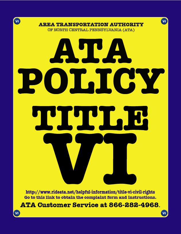 ATA VI Policy ICON