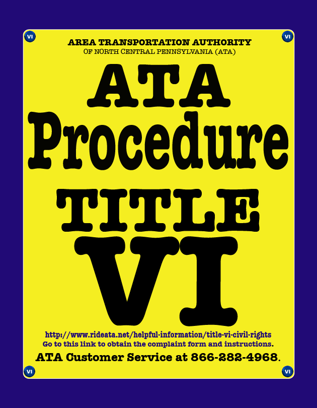 ATA VI Procedure ICON