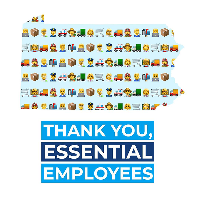 Thanks You Essential Employees