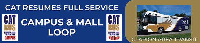 CAT BUS resumes full service