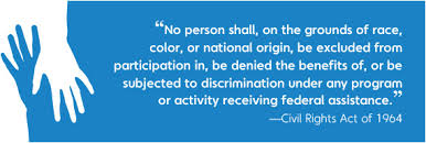 Civil Rights Act of 1964 - TITLE VI