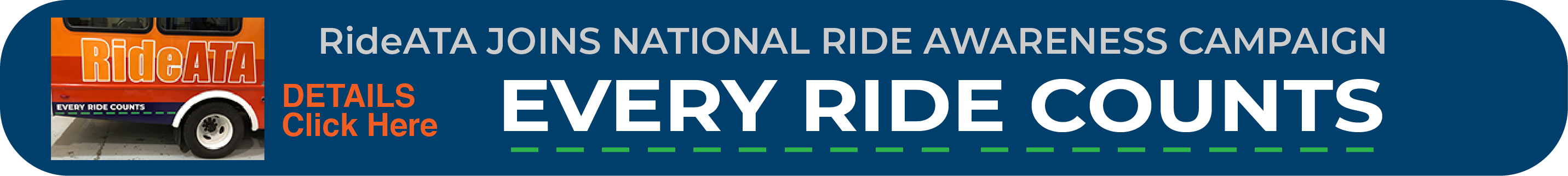 Every Ride Counts Banner 2019
