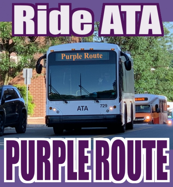 DuBois Area Purple Route - Downtown - Hospital